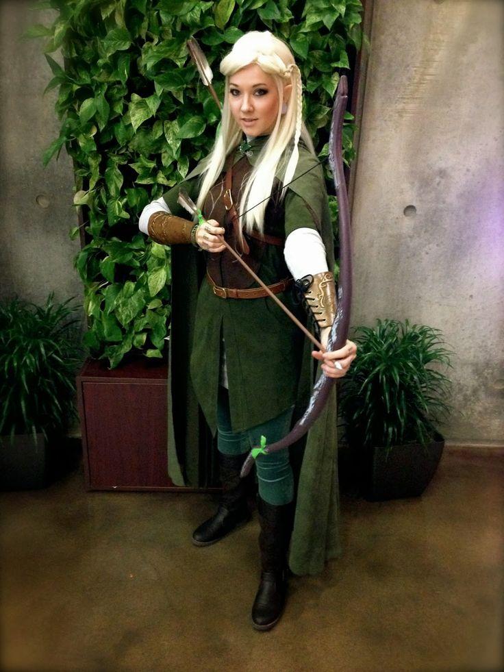 GLITZY GEEK GIRL Tutorial Legolas Cosplay Diy elf