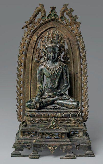 , 'Crowned Buddha. India (Bihar), Pala period,' 10th-11th century, The Metropolitan Museum of Art