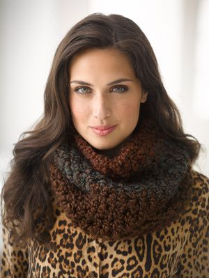 Crochet Patterns Lion Brand Homespun : , Lion Brand Yarns, Infinity Scarf, Crochet Free Pattern, Lion Brand ...