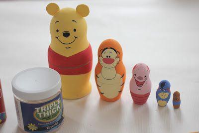 ryska dockor Puh och hans vänner,  Repeat Crafter Me