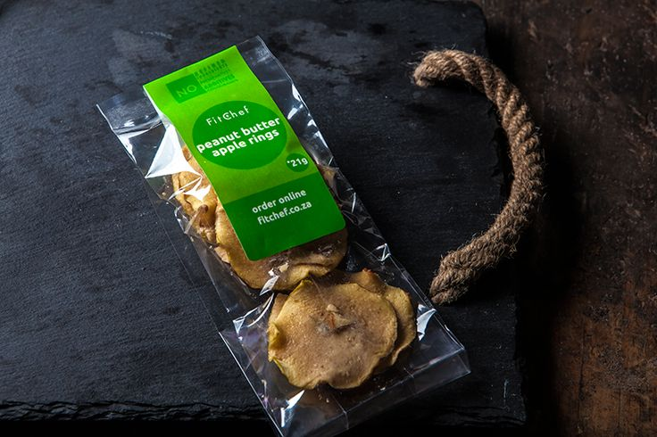 FitChef Peanut Butter Apple Rings - 40g