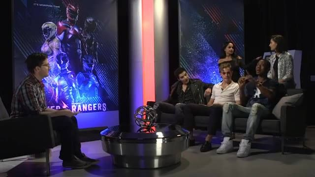 Josh Horowitz and some very special guests sit down with the cast of Power Rangers Movie.