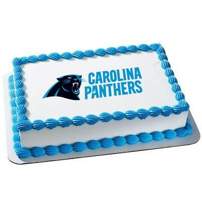 Carolina Panthers Edible Frosting Sheet Cake Topper  Licensed  14 Sheet *** Check out the image by visiting the link.(This is an Amazon affiliate link and I receive a commission for the sales)