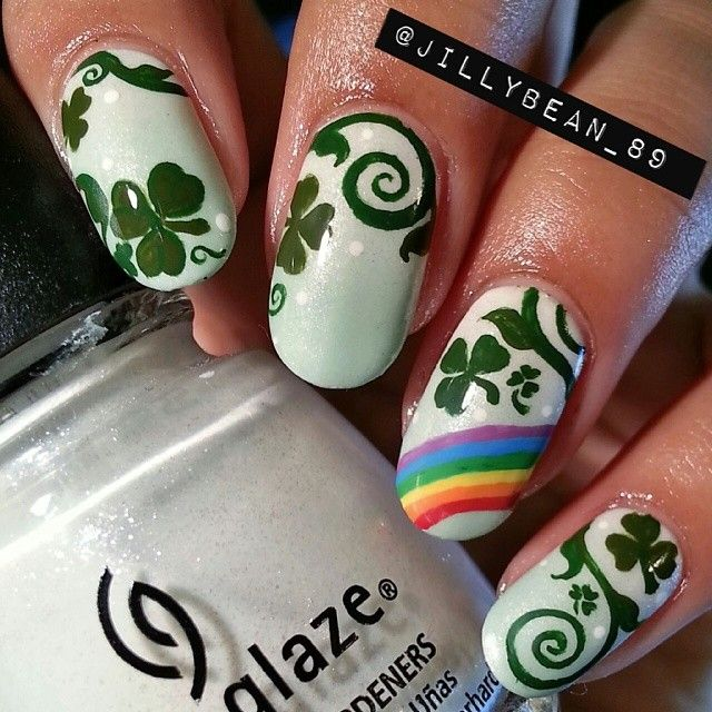 188 best Nail Art - St. Patrick\'s Day images by A Sparkly Life for ...