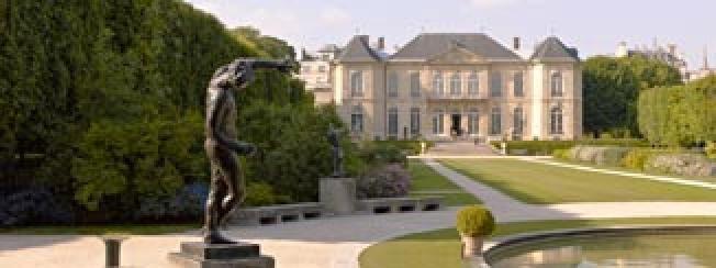 Musee Rodin: Vue de l'hôtel Biron