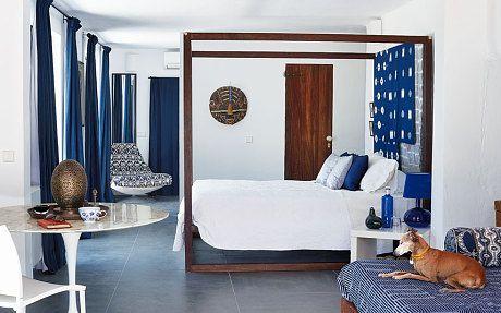Jade Jagger's white haven in Ibiza - Telegraph