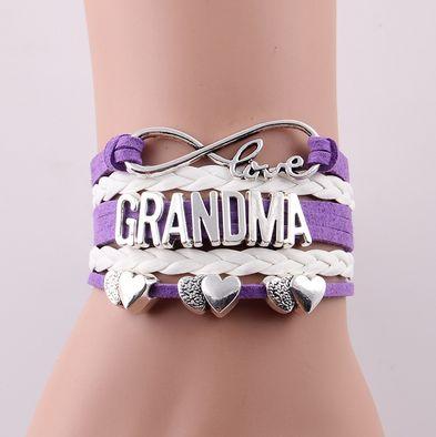 Love Grandma Charm Bracelet