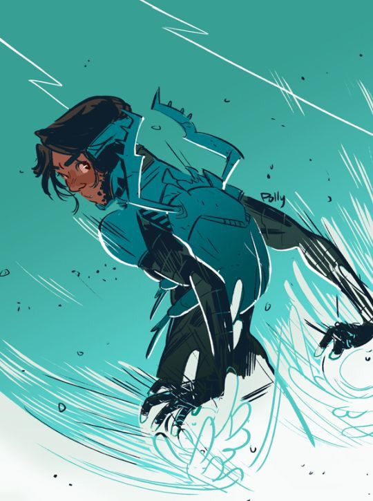 Jaime Reyes transformers into the Blue Beetle