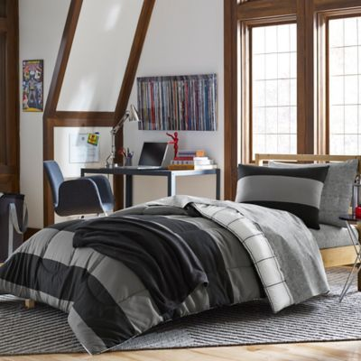 Buy Bryce 7Piece Dorm Kit in Black from Bed Bath & Beyond