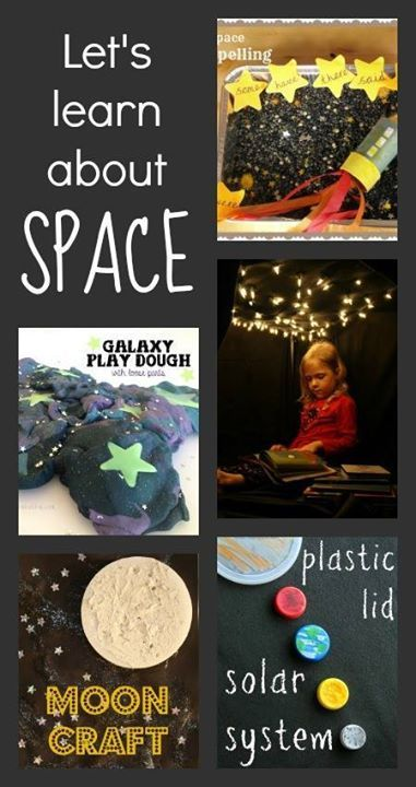 Great resources for space activities :: space theme ::