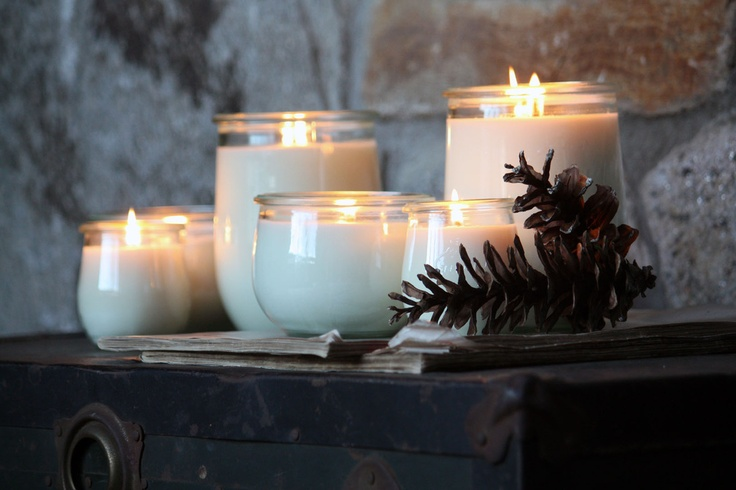 hand poured soy candles; vedge candle! | weck jars ...