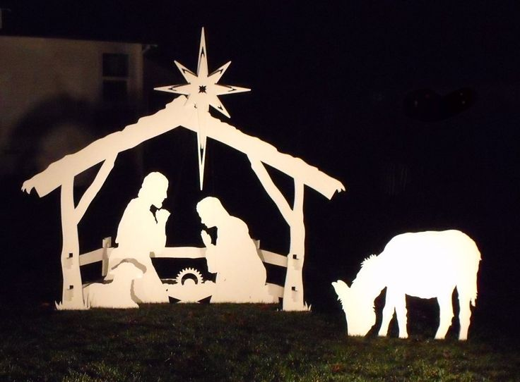 3 Beautiful Life Size Outdoor Nativity Sets for Sale