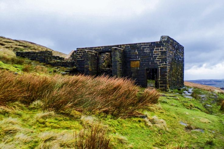 Taken whilst at Top Withins which is the remains of a farmhouse that is said to have been the inspiration for the Earnshaw House in Wuthering Heights. Picture Copyright © 2017 Colin Green All Rights Reserved