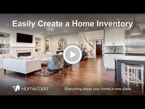 A Quick and Easy #Home Inventory with #HomeZada