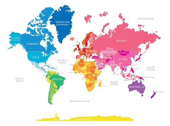 17 best map images on Pinterest World maps, Worldmap and Maps - copy world map of america and europe