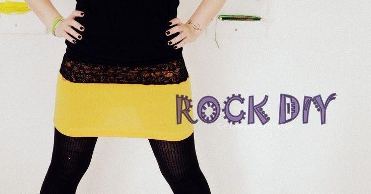 DIY, nähanleitun, 5 minuten rock, rock nähen, nähen lernen, rock, grinsestern, diy, pdf anleitung rock