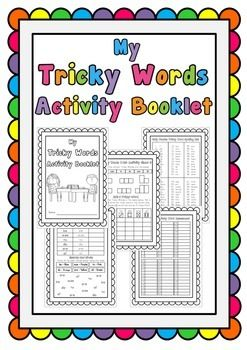 Jolly Phonics Tricky Words Workbook