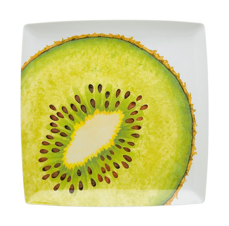 TROPICS - Charger Plate Kiwi