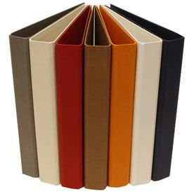Look what I found at JAM Paper and Envelope: Cloth Covered Heavy Duty Three Ring Binders - http://www.jampaper.com/OfficeHelpers/Binders/ClothCoveredHeavyDutyThreeRingBinders