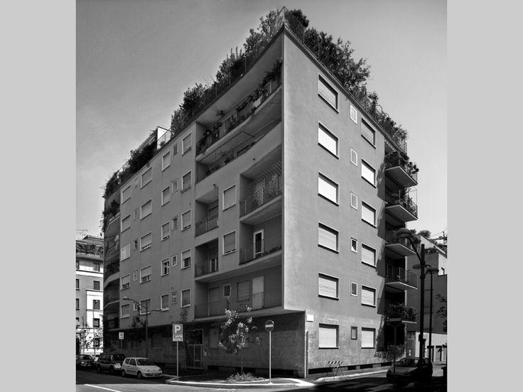 Residential building - Cultured professionalism in the postwar period - itineraries - Ordine degli architetti, P.P.C della provincia di Mila...