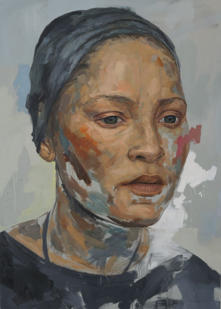 Residue series 3, 230cm X 165cm, Oil on Canvas