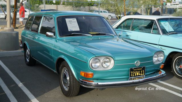 1972 Volkswagen 411 Station Wagon sold at McCormick's Collector Car Auction 63 http://www.specialcarstore.com/content/mccormicks-collector-car-auction-63-results