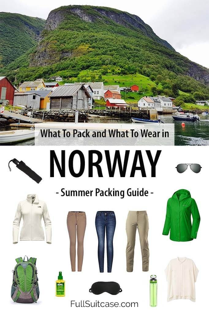 What To Wear and What To Pack for Norway in Summer