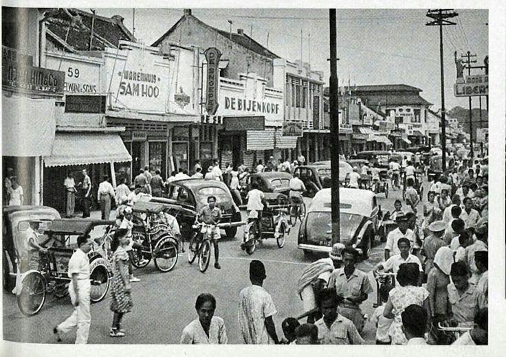 Pasar Baroe Batavia 1940-1963.