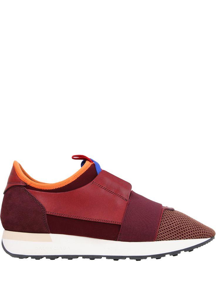 Комбинированные кроссовки от BALENCIAGA
