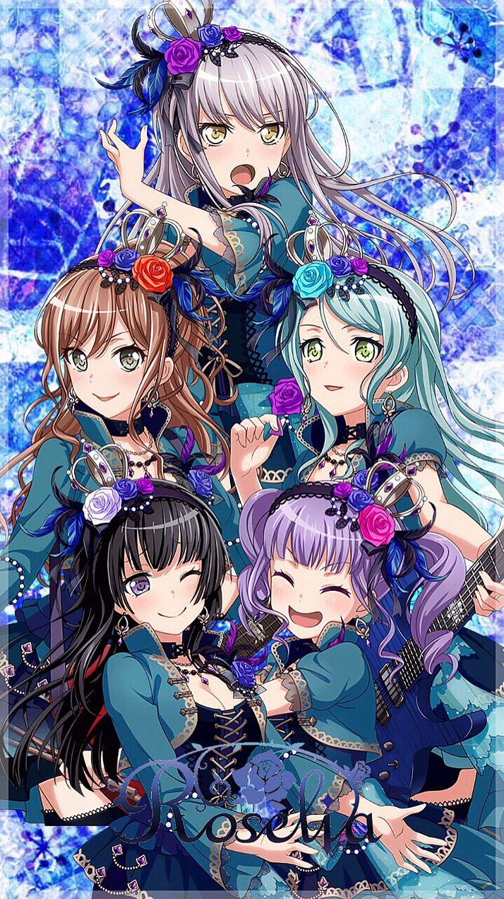 ガルパ新衣装壁紙 アニメ 音楽 かわいいアニメガール バンドリ