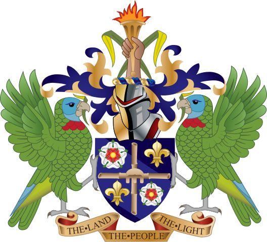 Coat of arms of Saint Lucia - Saint Lucia - Wikipedia, the free encyclopedia