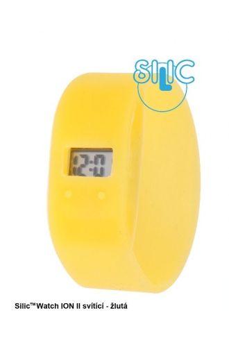 Silic Watch ION II svítící - žlutá