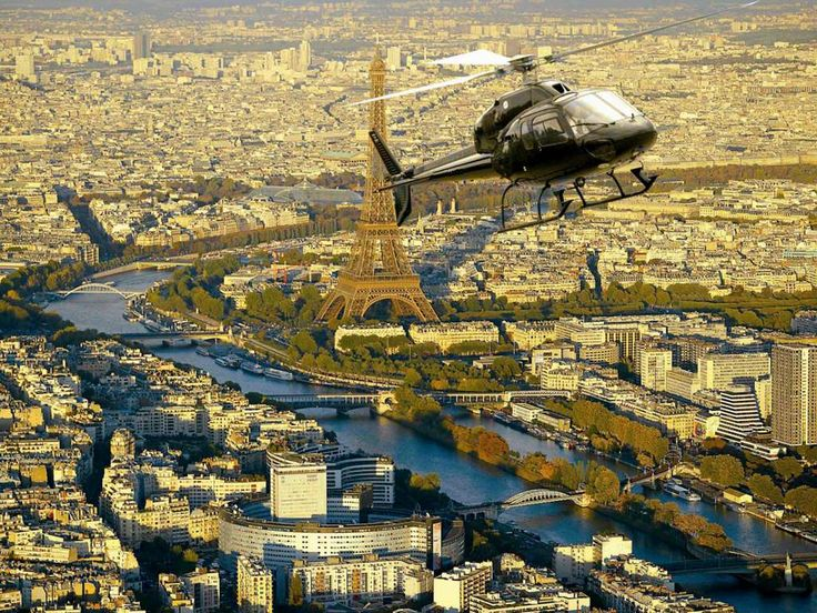 #Paris en hélicoptère