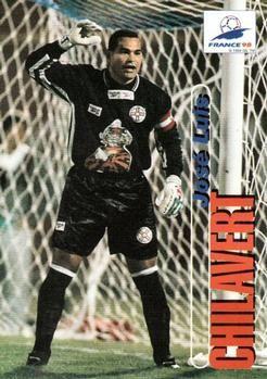 1998 Panini World Cup #4 Jose Luis Chilavert Front