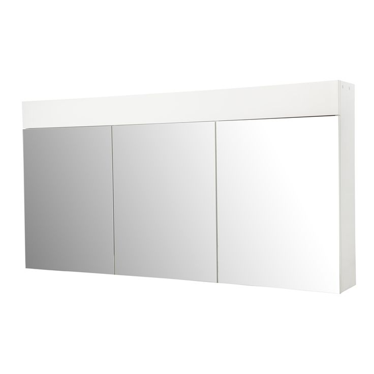 bunnings 299 1200 x 620 x 160mm 3 door mirror shaving