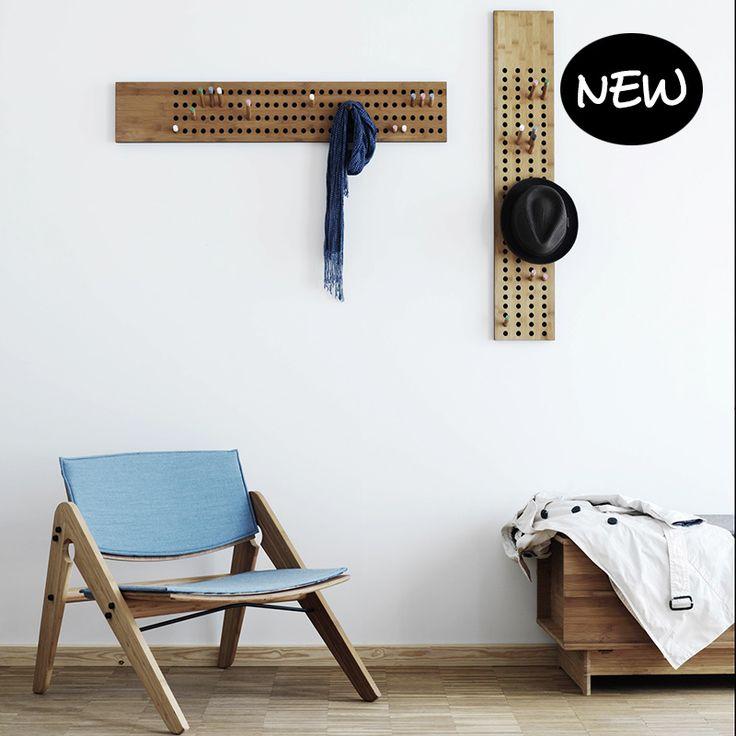 Scoreboard kapstok L horizontaal - We Do Wood - Kapstokken - kleerhangers - Accessoires - Producten - Livingdesign