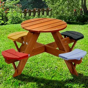 Swing Town Kids Picnic Table $124