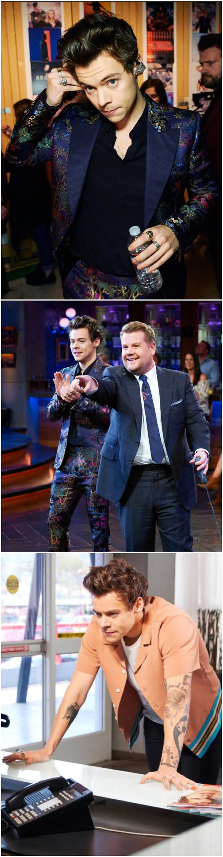 NEW | Harry Styles Megapin. Harry on the Late Late Show with James Corden for the whole week! Follow rickysturn/harry-styles