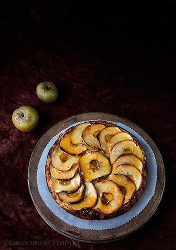 Tarta de castañas y manzanas de mi abuela