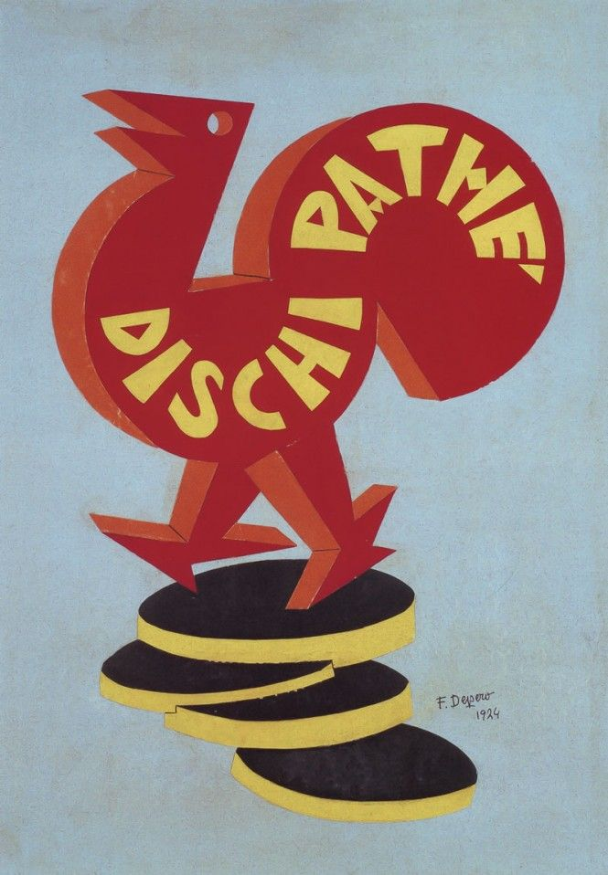 Fortunato Depero pubblicità - advertisement