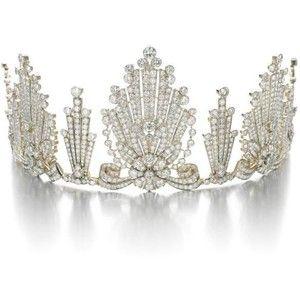 Diamond Tiara 1950's. Auctioned by Sotheby's 2008.: Diamonds Galleries, Diamonds Tiaras, Rose Cut Diamonds, 1950S Diamonds, Flowers Head, Crowns Jewels, Radiator Fans, Crowns Fit, Amazing Jewelry