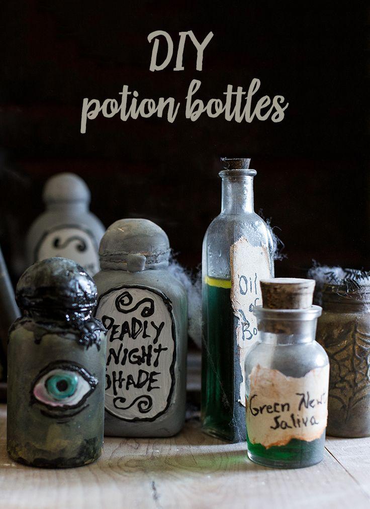 1000 images about diy on pinterest crafts natural diy for Halloween medicine bottles