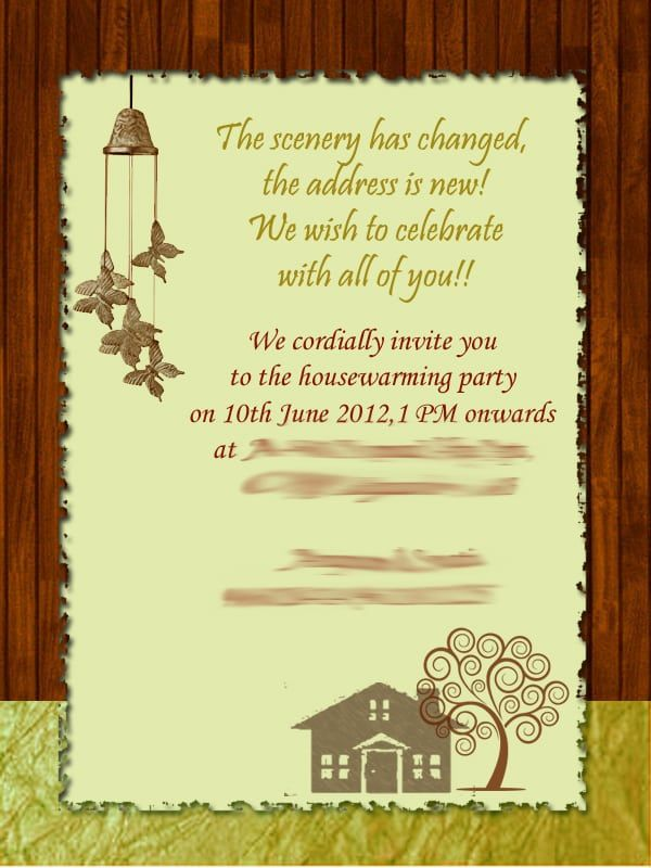 Invitation For Gruhapravesam House Warming Invitations Housewarming Invitation Cards Housewarming Party Invitations