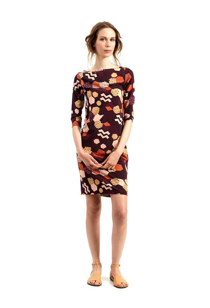 Sunday Dress - Sangria