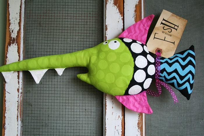 Here Fishy Fishy .... FABIAN от buttuglee на Etsy