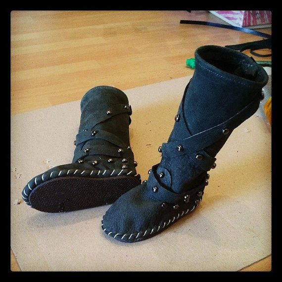 Indianini boots for  Feeple 60  stivali in vera pelle di Style4Bjd, €40.00