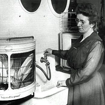 Josephine Garis Cochrane, the inventor of the dishwashing machine (1892) Applauded by Andrea Beaty, author of Rosie Revere Engineer. #STEM
