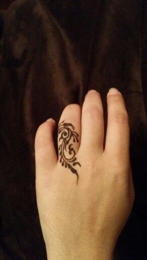 Henna Finger Tattoos: Henna Finger Design