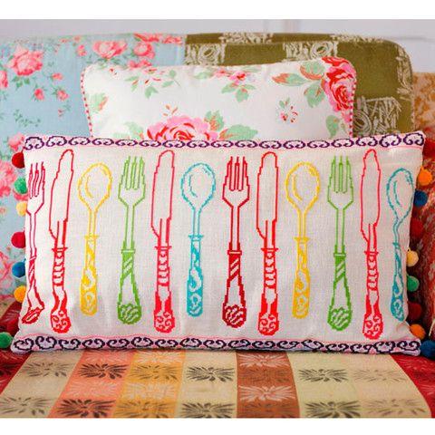 Colourful Cutlery - Cross Stitcher PDF