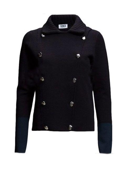 Sonia By Sonia Rykiel : Sonia Cardigan Jacket Double Breasted